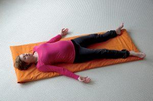 Yoga für Schwangere - Savasana