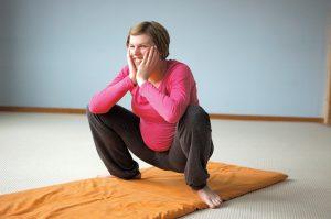 Yoga für Schwangere - die Naturstellung