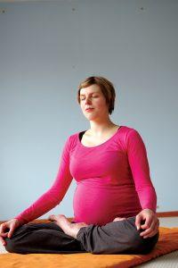 Yoga für Schwangere - Meditation