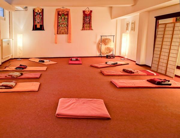 Yogaraum in der Odeonstr. in Hannover