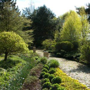 Natur Garten im Harbergen retreat Zentrum