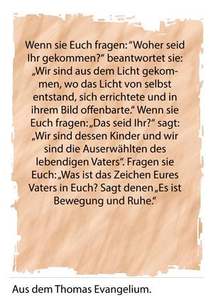 Zitat Thomas Evangelium