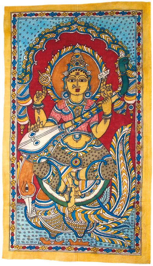 Saraswati - die Göttin für Kunst und Musik