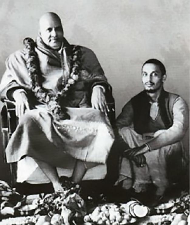 Swami Sivananda und Swami Satyananda