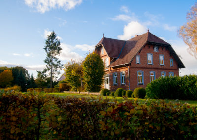 Harbergen Retreat im Herbst